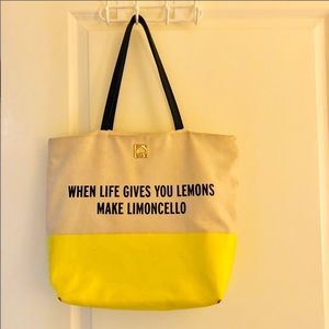 Kate Spade Tote canvas yellow